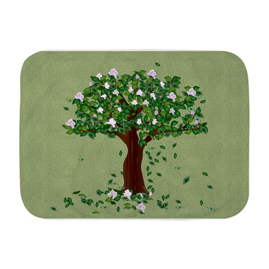 Magnolia Tree Baby Blanket By Ellejai Cafepress