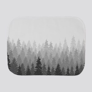 Gray Forest Burp Cloth
