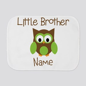 Personalized Little Brother Burp Cloth