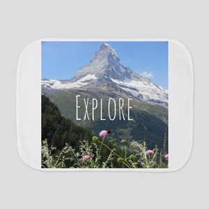 Inspirational word: Explore Burp Cloth