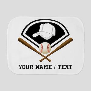 ee09584f3a707 Caps Baseball Burp Cloths - CafePress