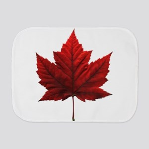 Canada Maple Leaf Souvenir Burp Cloth