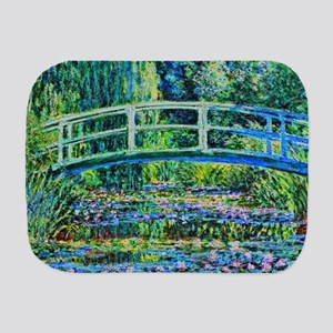 Monet - Water Lily Pond Burp Cloth