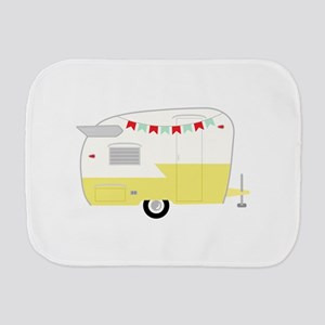 Vintage Camper Burp Cloth
