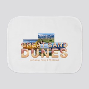 Great Sand Dunes Burp Cloth