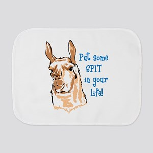 SPIT IN YOUR LIFE Burp Cloth