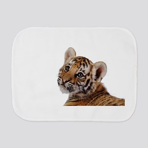 baby tiger Burp Cloth