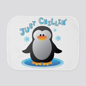 Just Chilin Burp Cloth
