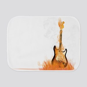 Hot Riffs Burp Cloth