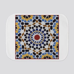 Moroccan Tile Burp Cloth