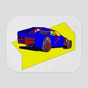 Dirt Track Racing Burp Cloths - CafePress