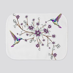 Hummingbirds Burp Cloth