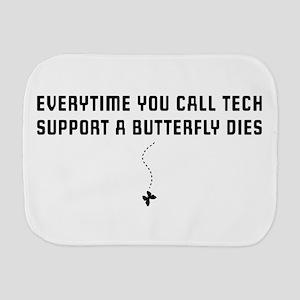 Tech Support Burp Cloths - CafePress