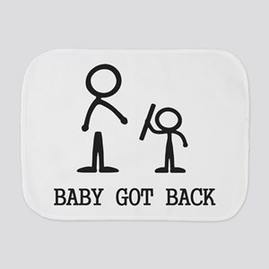 Baby Got Back Burp Cloth