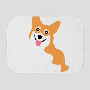 Cute Corgi Dog Burp Cloth