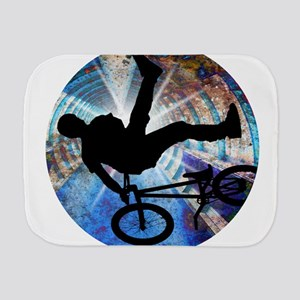 BMX in Grunge Tunnel Burp Cloth