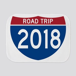 Road Trip 2018 Burp Cloth