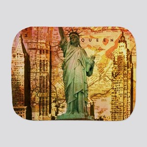 cool statue of liberty Burp Cloth