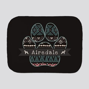 Airedale Burp Cloth