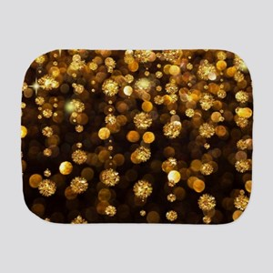Gold Sparkles Burp Cloth
