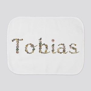 Tobias Seashells Burp Cloth