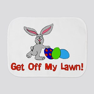 Get Off My Lawn Burp Cloth