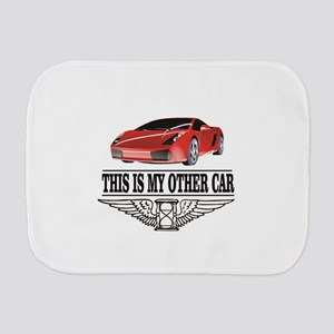 This is my other car Burp Cloth