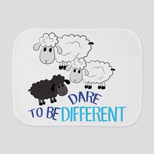 Be Different Burp Cloth