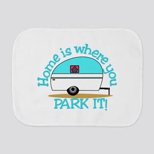 Park It Burp Cloth