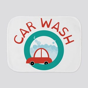CAR WASH Burp Cloth