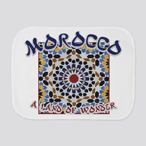Morocco Land Of Wonder Burp Cloth