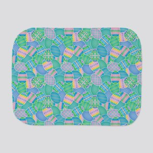 Colorful Eggs Burp Cloth