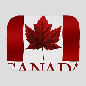 Canada Flag Souvenirs Burp Cloth
