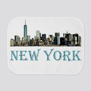 New York City Burp Cloth
