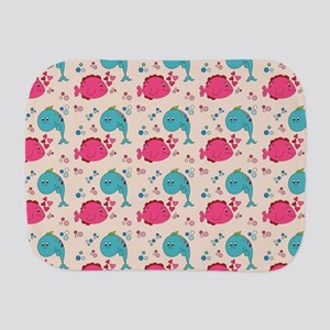 BUBBLES Burp Cloth