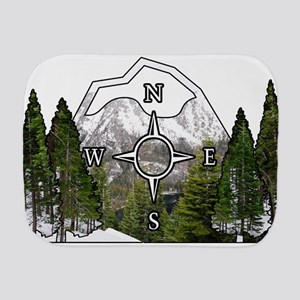 Wanderlust Burp Cloth