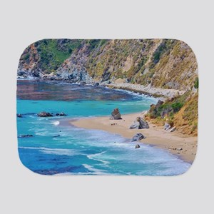 Big Sur Beach Burp Cloth