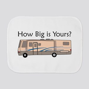 How Big Is Yours? Burp Cloth