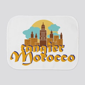 Tangier Morocco Burp Cloth