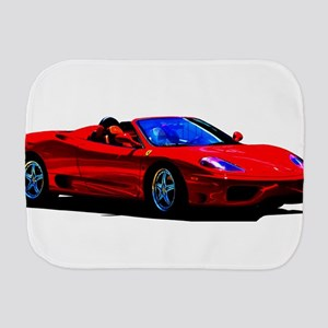 Red Ferrari - Exotic Car Burp Cloth