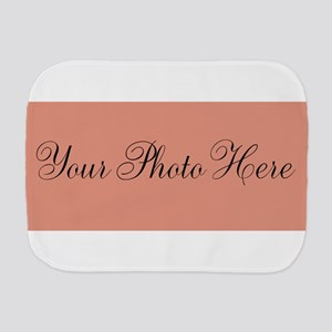 Your Photo Here Burp Cloth