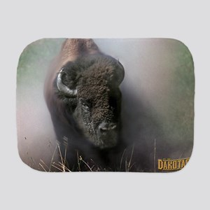 Buffalo Dakotagraph poster Burp Cloth