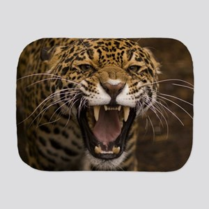 Growling Jaguar Burp Cloth