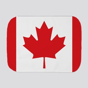 Canada National Flag Burp Cloth