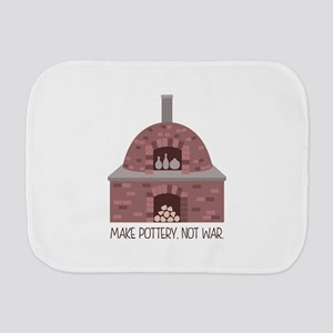 Pottery Kiln No War Burp Cloth