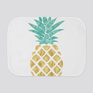 Golden Pineapple Burp Cloth