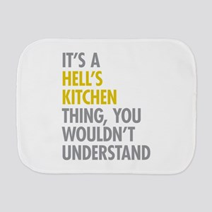 Hells Kitchen Thing Burp Cloth