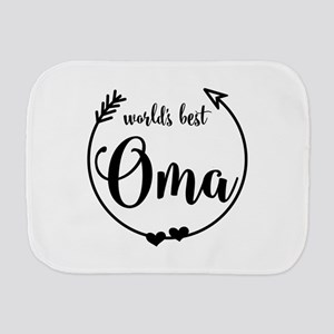 World's Best Oma Burp Cloth