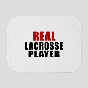 Real Lacrosse Burp Cloth