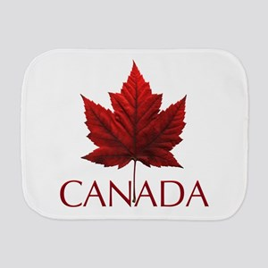 Canada Flag Maple Leaf Burp Cloth